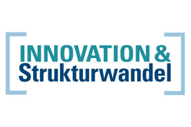 Logo der Initiative enthält folgenden Text: 'Innovation & Strukturwandel'