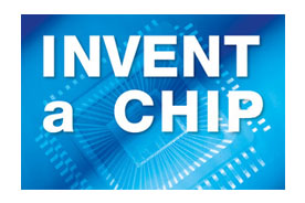 Logo enthält den Text 'Invent a Chip'